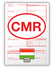 Lettre de voiture internationale CMR (english & magyar)