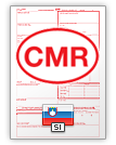 Lettre de voiture internationale CMR (english & slovenščina)