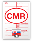Lettre de voiture internationale CMR (english & slovenčina)